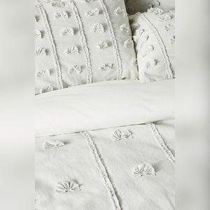 Anthropologie Bedding - Anthropologie Embellished Tilly Duvet Cover Only